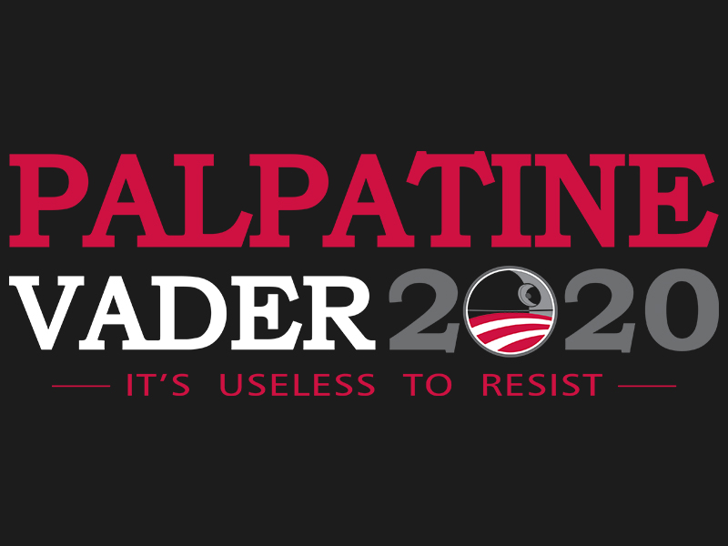 Elect Palpatine-Vader 2020 -